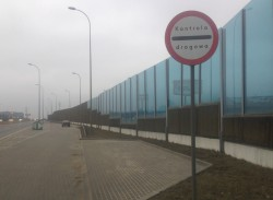 Zatoczka z punktem kontrolnym na Trasie W-Z.