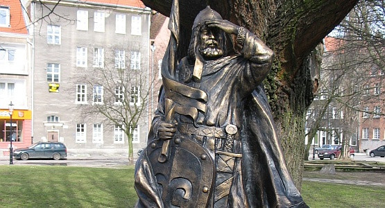 Projekt pomnika Świętopełka Wielkiego autorstwa Wawrzyńca Sampa.