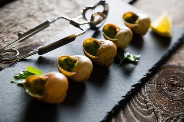 Escargot - ślimak przyrządzony wg receptur francuskich