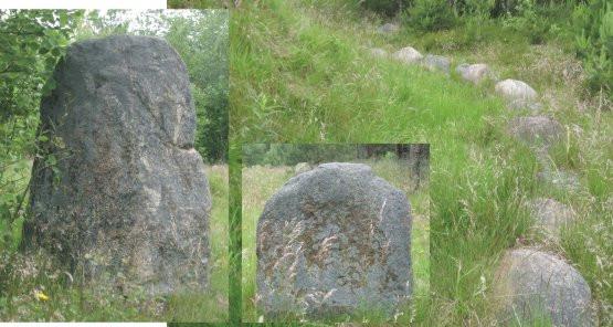 Kamienne Kręgi nieopodal wsi Borcz