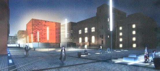 Elementy nowoczesnej architektury tworzą ciekawą oprawę dla historycznego zespołu budynków browaru - napisali jurorzy o pracy Bartosza Arendta i Katarzyny Bedry.