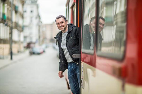 Pomysłodawca przedsięwzięcia - Krzysztof Krzemiński - od ponad trzydziestu lat mieszka na Dolnym Mieście.