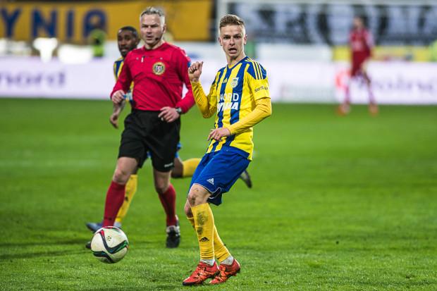 Mateusz Szwoch ocenia, że choć gra Arki nie jest jeszcze idealna, to należy za cel postawić wygranie wszystkich meczów do końca sezonu.