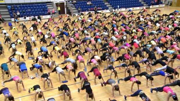 Blisko 500 uczestniczek ćwiczyło z Anią Lewandowską.