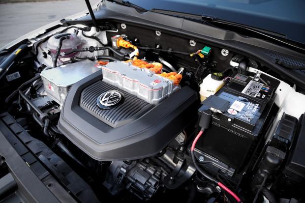 Silnik elektryczny e-Golfa.