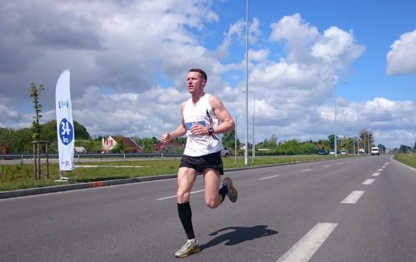 Piotr Szpigiel (na zdjęciu) zwyciężył 1. PZU Gdańsk Maraton. W tym roku biegacza zabraknie na starcie.