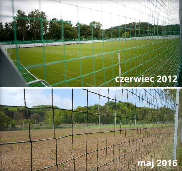 W 2012 r. miasto zapewniało, że z podarowanego boiska zrobi odpowiedni użytek. Po czterech latach obiekt jest zrujnowany i czeka na kosztowną modernizację.