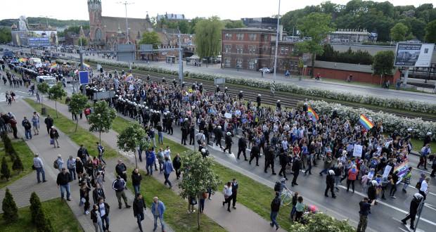 Jedna z manifestacji wejdzie na główną arterię miasta. Korki są nieuniknione.