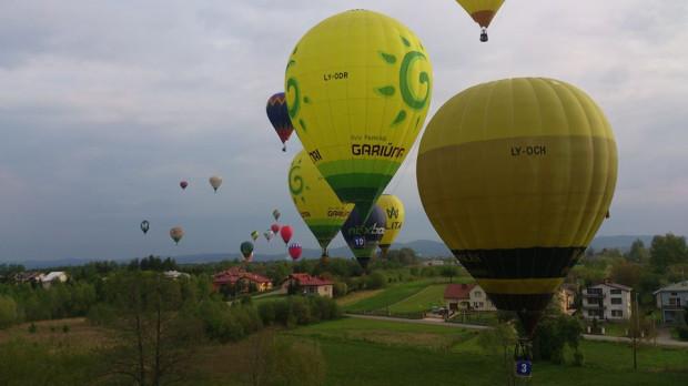 Imponujący widok z balonu Denisa.