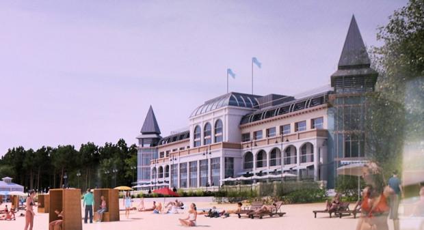 Tak miała się prezentować Hala Plażowa według koncepcji przedstawionej podczas prac nad planem zagospodarowania w 2014 r.