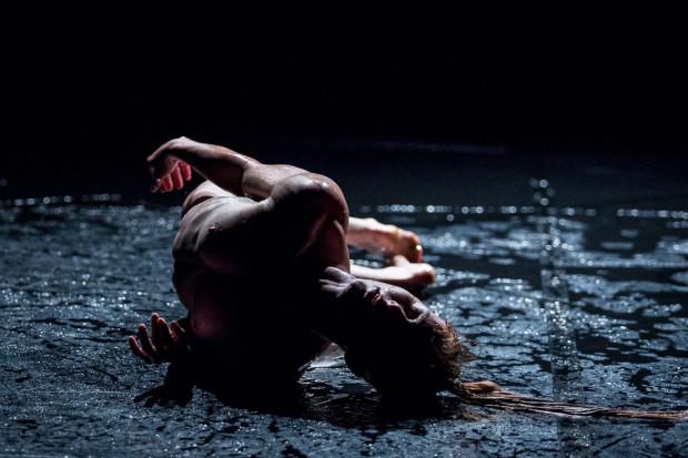 """Rozgrywający się głównie w parterze, częściowo w wodzie, zmysłowy spektakl """"Room 40"""" był jedną z największych ozdób pierwszej części Gdańskiego Festiwalu Tańca."""
