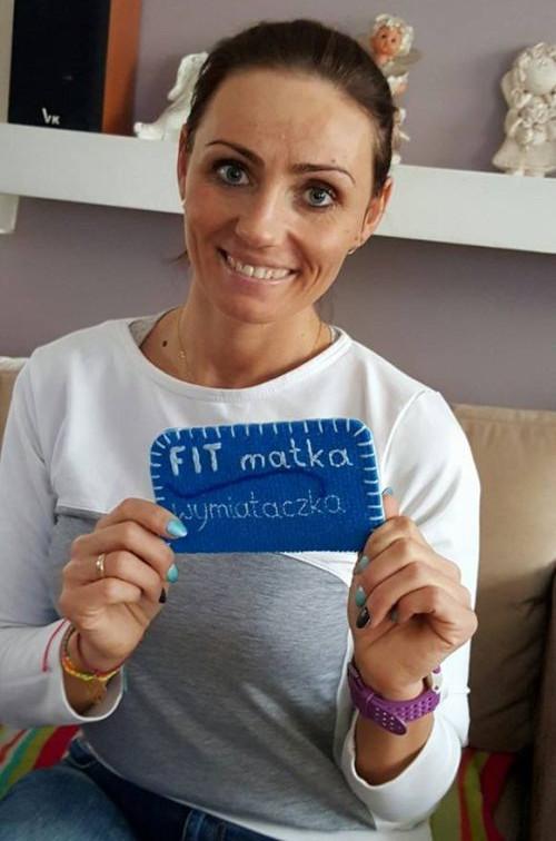 Na swoim facebookowym fanpage'u pani Izabela zachęca do aktywności fizycznej.