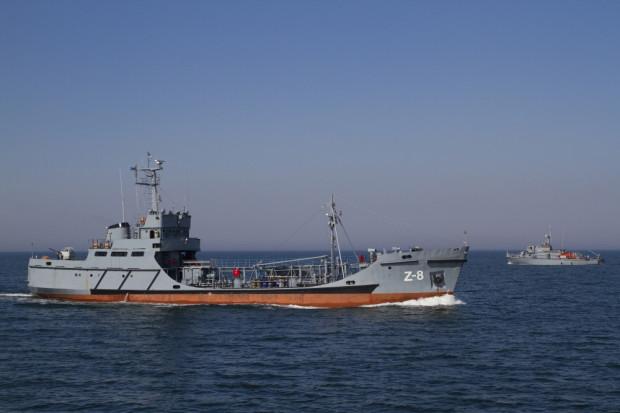 Z-8 to zbiornikowiec, który służy w Marynarce Wojennej od prawie 46 lat. W przyszłości ma zostać zastąpiony przez nową jednostkę.