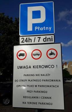Znaki podobne do tych, które stoją przy ul. Lawendowej pojawią się w ciągu najbliższych kilku dni. Koszty jednak poniesie miasto, a nie dzierżawcy.
