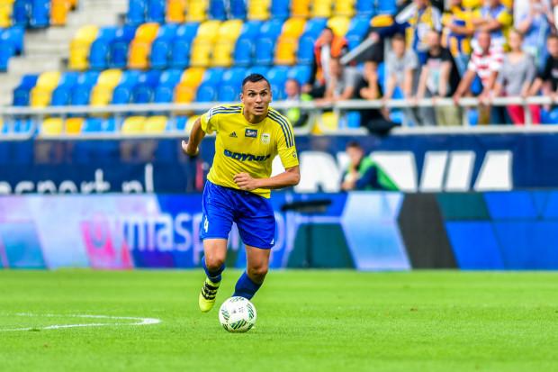 Dawid Sołdecki strzelił jedynego gola w piątek Jagiellonii, ale i obrońca meczu w Białymstoku nie może uznać za udany.
