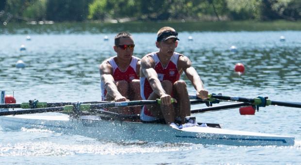 Rywalizacja w finale olimpijskim okazała się zbyt dużym wyzwaniem dla Miłosza Jankowskiego z AZS AWFiS Gdańsk i Artur Mikołajczewski (Gopło Kruszwica).