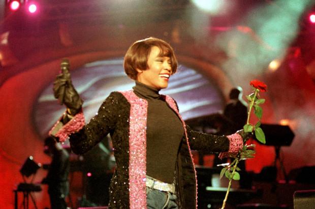Whitney Houston na Festiwalu Piosenki w Sopocie, 1999 rok.