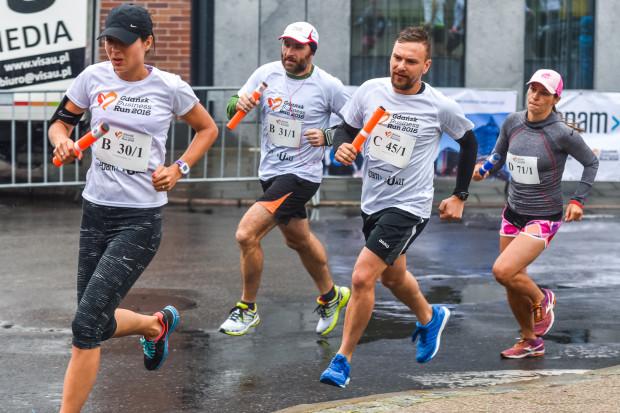 Zespoły startujące w Business Run miały do pokonania pięć zmian po ok. 3,1 km.