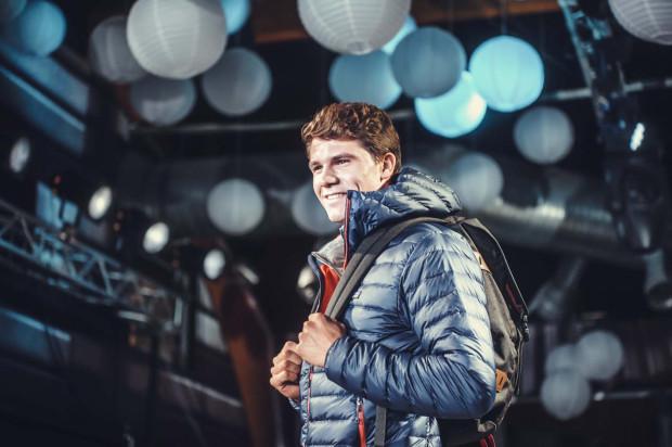 Paweł Tarnowski - wicemistrz Europy w klasie RS:X - podobnie, jak inni żeglarze z Trójmiasta wziął udział w pokazie mody marki Patagonia