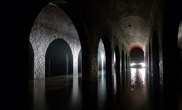 """Zbiornik """"Stara Orunia"""" to unikatowy zabytek sztuki inżynieryjnej i jedno z największych w Polsce siedlisk nietoperzy."""