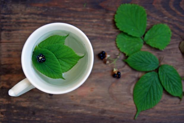 Herbata (napar) z liści jeżyny reguluje pracę układu hormonalnego, obniża poziom glukozy we krwi, niweluje uciążliwe objawy menopauzy takie jak uderzenia gorąca. Wskazana jest również w nieżytach górnych dróg oddechowych.