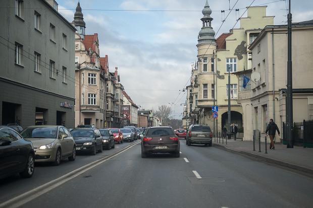 Aleja Niepodległości w Sopocie.