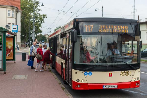Jeden z autobusów Warbusa, który do tej pory obsługiwał m.in. linię 117 w Sopocie.
