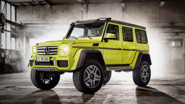 Mercedes-Benz G 500 4x4 2 - to jeden z droższych samochodów sprzedanych w roku 2016 w Trójmieście.