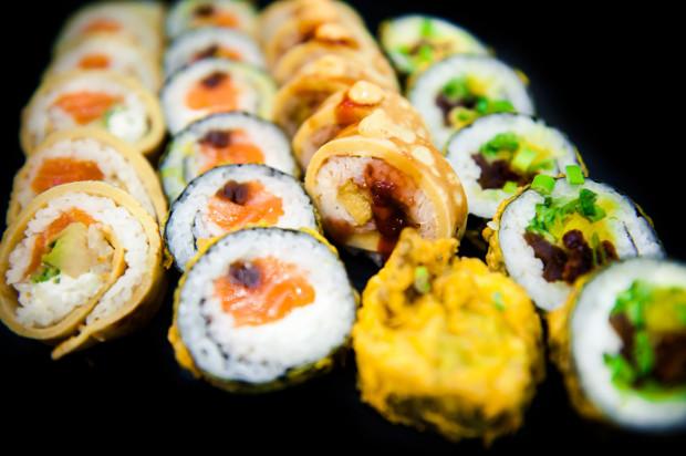 W New Kansai Sushi wciąż trwa promocja, w ramach której sushi i tempury zamówimy z 50-procentową zniżką.