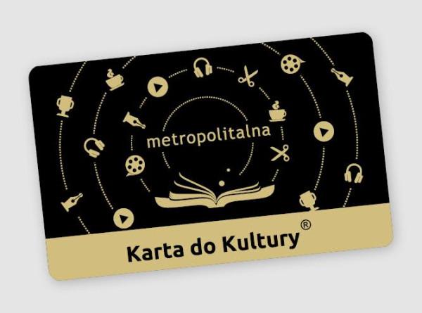 Tak będzie wyglądać Metropolitalna Karta do Kultury.
