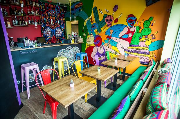 Suavemente - niepozorny lokalik na Zaspie z pysznym meksykańskim jedzeniem.