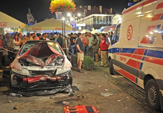 Michał L. wjechał samochodem na pełen ludzi Monciak w lipcu 2014 roku. Ranił 23 osoby.