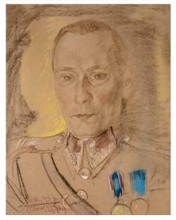 """Stanisław Ignacy Witkiewicz, """"Portret Franciszka Maciaka"""". Cena wywoławcza: 58 tys. zł."""