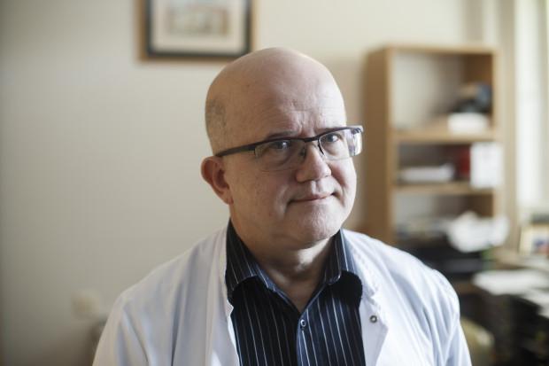 Prof. Grzegorz Raczak, kierownik Kliniki Kardiologii i Elektroterapii Serca Uniwersyteckiego Centrum Klinicznego w Gdańsku.