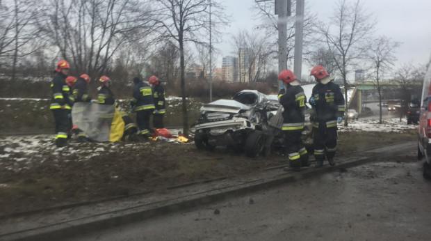 Do wypadku na Drodze Różowej w Gdyni doszło ok. godz. 14.