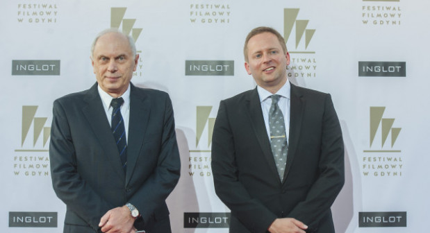 Michał Oleszczyk (z prawej) przestał być dyrektorem artystycznym festiwalu. Ta funkcja została zlikwidowana. Imprezą, po połączeniu funkcji dyrektora festiwalu i dyrektora programowego będzie zawiadywał Leszek Kopeć.