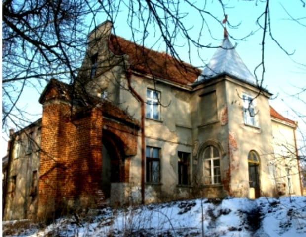 Dawna posiadłość krzyżacka we wsi Grabiny-Zameczek