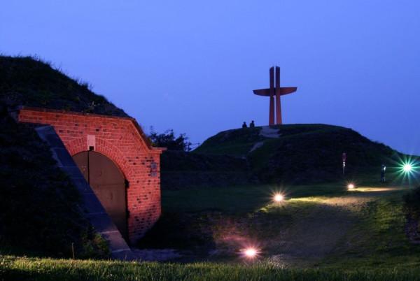 Nową iluminację i oświetlenie zyska też Krzyż Milenijny na Górze Gradowej.