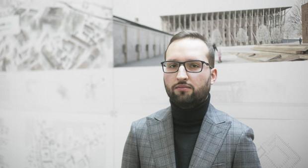 Jakub Grabowski, autor zwycięskiej pracy Dyplom Roku.