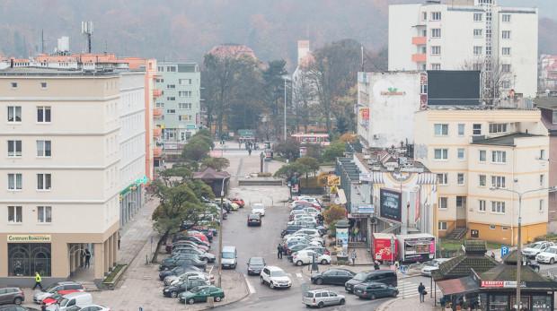 Ulica Klonowa, przez którą miał powstać tramwaj do dworca we Wrzeszczu.