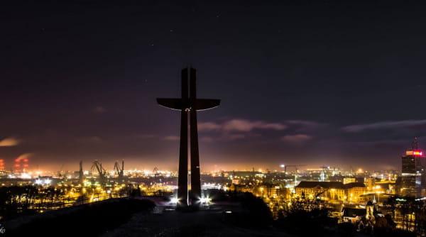 Krzyż Milenijny na Górze Gradowej zyska nową iluminację.