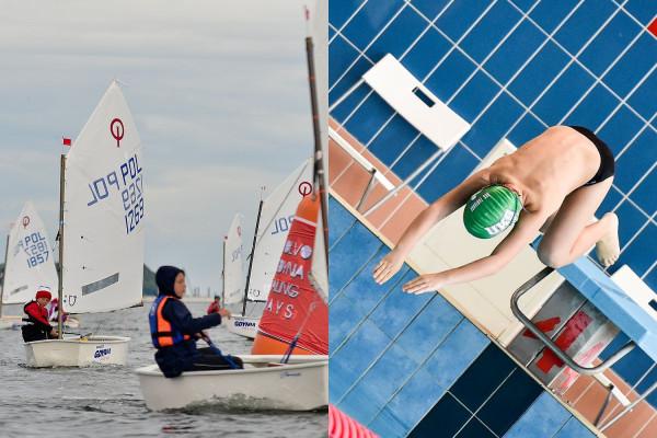 Wśród wyróżnionych znajdziemy wielu młodych sportowców uprawiających żeglarstwo oraz pływanie, a także...
