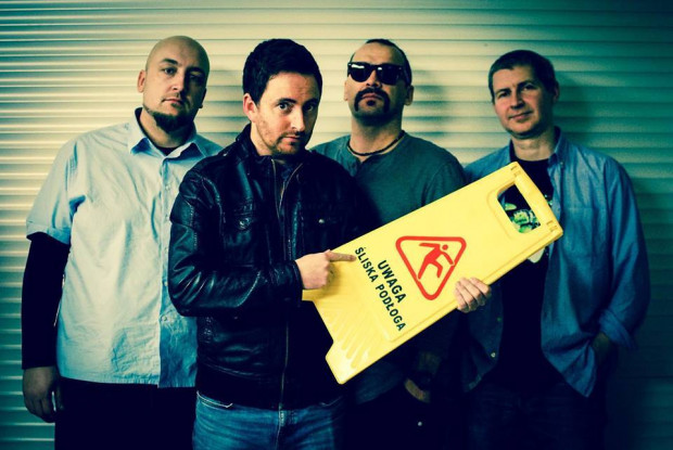 Craig Coppock i zespół Mad in Poland.