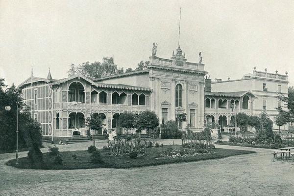 Dom Zdrojowy około 1900 roku.