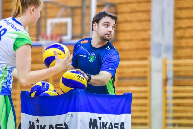 Piotr Olenderek poprowadzi Atom Trefl w czterech ostatnich meczach sezonu regularnego Orlen Ligi.