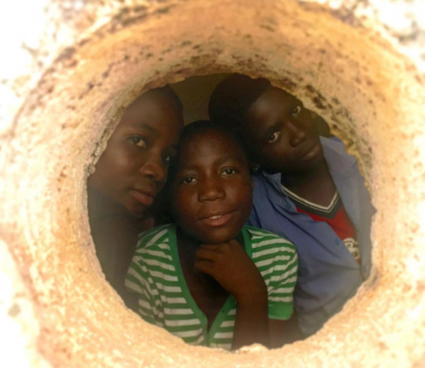 Zdjęcie wykonane w Livingstonii, w Malawi.