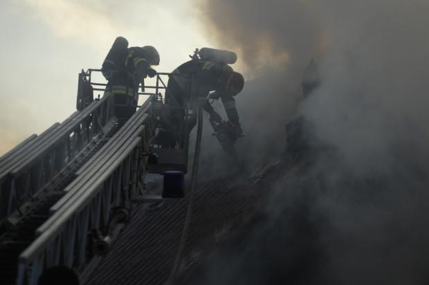 Trójmiejscy strażacy nierzadko pracują na wysokości. W niedługiej przyszłości otrzymają nowy podnośnik i samochód z drabiną.