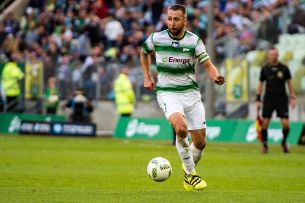 Jakub Wawrzyniak jako jedyny obrońca Lechii Gdańsk zagrał we wszystkich meczach wiosną.