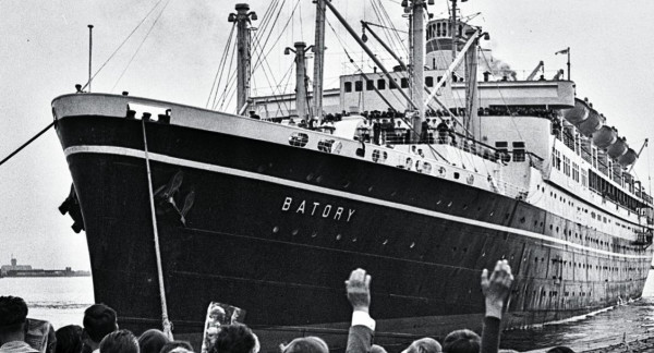 Stanley Jabłoński przypłynął na nim do Polski w latach 60.