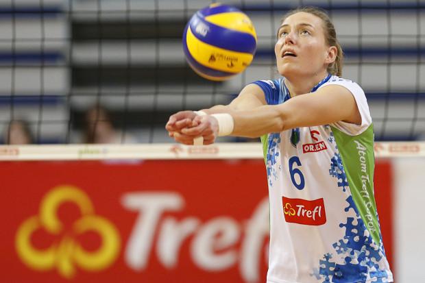 Małgorzata Skorupa ma za sobą jeden z najlepszych meczów w koszulce Atomu Trefla.
